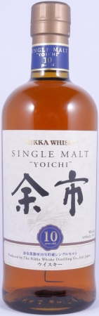 Nikka Yoichi 10 Years Japanese Single Malt Whisky 45.0%