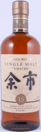 Nikka Yoichi 15 Years Japan Single Malt Whisky 45,0%