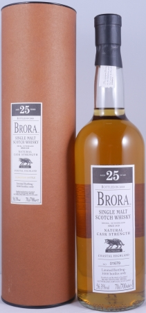 Brora 25 Years 2008 7th Release Highland Single Malt Scotch Whisky Cask Strength 56,3%