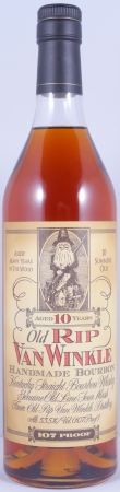 Old Rip Van Winkle 10 Years handmade Kentucky Straight Bourbon Whiskey 53,5%