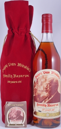 Pappy Van Winkles 20 Years Family Reserve Release 2014 Kentucky Straight Bourbon Whiskey 45.2%