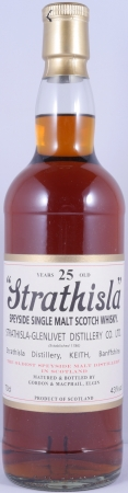 Strathisla 25 Years Speyside Single Malt Scotch Whisky Gordon and MacPhail 43,0%