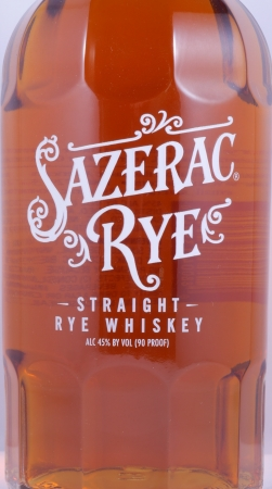 Sazerac 6 Years Kentucky Straight Rye Whiskey from Buffalo Trace 45.0%