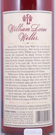 William Larue Weller 2001 Fall of 2013 Kentucky Straight Bourbon Whiskey 68.1% from the Buffalo Trace Antique Collection