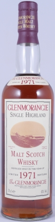 Glenmorangie 1971 21 Years 150th Anniversary limited Edition Highland Single Malt Scotch Whisky 43,0%