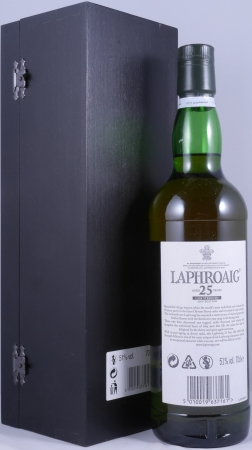 Laphroaig 25 Years limited Edition Release 2009 Islay Single Malt Scotch Whisky Cask Strength 51.0%