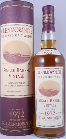 Glenmorangie 1972 22 Years Rare Single Barrel 1831 Highland Single Malt Scotch Whisky Cask Strength 46.0%