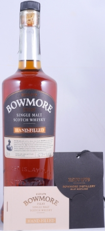Bowmore 1998 15 Years 5th Hand-Filled Edition 1st Fill Bordeaux Wine Barrique Cask 32162 Single Malt Scotch Whisky 57.1%