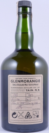 Glenmorangie 1987 17 Years Rare Cask 6813 Single Highland Malt Scotch Whisky Cask Strength 54.1%