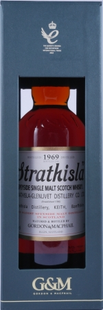 Strathisla 1969 45 Years Speyside Single Malt Scotch Whisky Gordon and MacPhail 43,0%