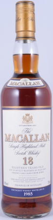 Macallan 1985 18 Years Sherry Oak Highland Single Malt Scotch Whisky 43,0%