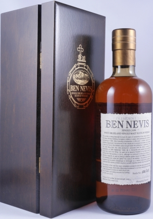 Ben Nevis 1990 23 Years Single Cask No. 2 The Presidents Casks Highland Single Malt Scotch Whisky Cask Strength 56.4%