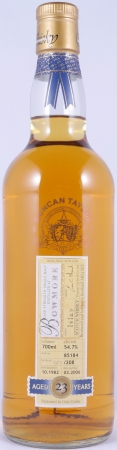 Bowmore 1982 23 Years Cask 85184 Islay Single Malt Scotch Whisky Duncan Taylor Cask Strength Rare Auld Edition 54,7%