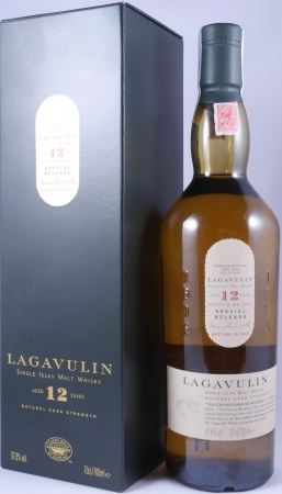 Lagavulin 1991 12 Years 3rd Special Release 2003 Limited Edition Islay Single Malt Scotch Whisky Cask Strength 57,8%