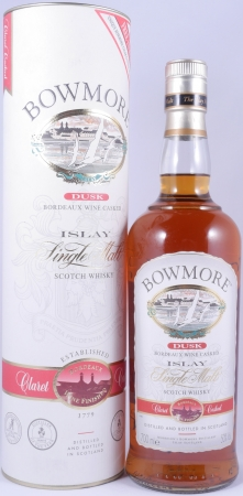 Bowmore Dusk Claret Casked Finished Islay Single Malt Scotch Whisky Seagull Label Cask Strength 50,0%