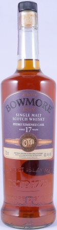 Bowmore 1999 Feis Ile 2016 17 Years Pedro Ximénez Sherry Cask 24 Hand-Filled Islay Single Malt Scotch Whisky 56,1%