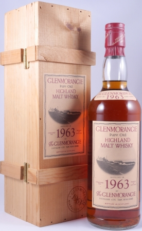 Glenmorangie 1963 23 Years Pure Old Highland Malt Scotch Whisky 43.0%
