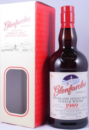 Glenfarclas 1989 26 Years Christmas Edition Oloroso Sherry Cask Highland Single Malt Scotch Whisky 46,0%