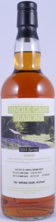 Clynelish 1996 18 Years Highland Single Malt Scotch Whisky Cask 6511 Seasons Spring 2015 Limited Edition 49,9%