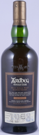 Ardbeg 1998 11 Years Refill Sherry Hogshead Cask 2763 Islay Single Malt Scotch Whisky Cask Strength 55.6%
