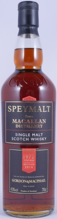 Macallan Speymalt 1972 42 Years First Fill Sherry Cask Highland Single Malt Scotch Whisky 43,0%