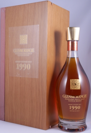 Glenmorangie Grand Vintage 1990 25 Years Bond House No. 1 Kollektion Highland Single Malt Scotch Whisky 43,0%