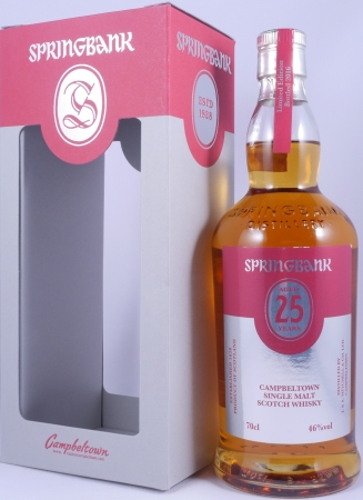 Springbank 25 Years Limited Edition 2016 Campbeltown Single Malt Scotch Whisky 46.0%