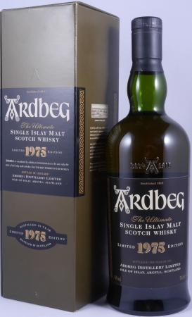 Ardbeg 1975 Limited Edition Bottled in the Year 2001 Islay Single Malt Scotch Whisky 43,0%