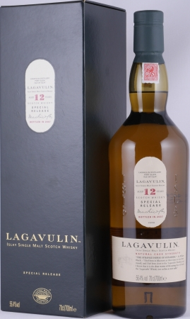 Lagavulin 1995 12 Years 7th Special Release 2007 Limited Edition Islay Single Malt Scotch Whisky Cask Strength 56,4%