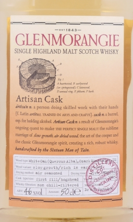 Glenmorangie 1995 10 Years Artisan Cask Highland Single Malt Scotch Whisky 46,0%