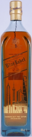 Johnnie Walker Blue Label Shanghai City Duty Free Edition Limited Design Blended Scotch Whisky 40.0%