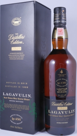 Lagavulin 1995 18 Years Distillers Edition 2013 Special Release lgv.4/501 Islay Single Malt Scotch Whisky 43,0%
