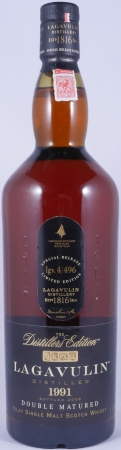 Lagavulin 1991 16 Years Distillers Edition 2008 Special Release lgv.4/496 Islay Single Malt Scotch Whisky 43,0%