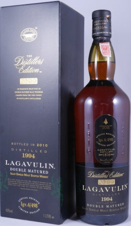 Lagavulin 1994 16 Years Distillers Edition 2010 Special Release lgv.4/498 Islay Single Malt Scotch Whisky 43,0%