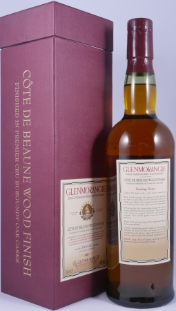 Glenmorangie Cote De Beaune Wood Finish 12 Years Highland Single Malt Scotch Whisky 46.0%