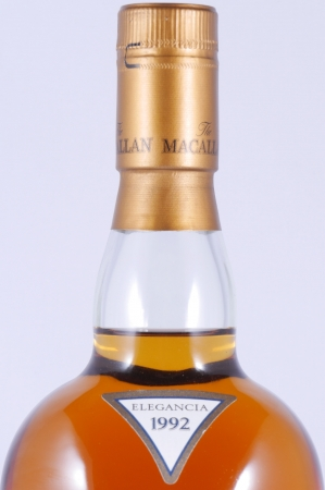 Macallan 1992 12 Years Elegancia Highland Single Malt Scotch Whisky 40,0%