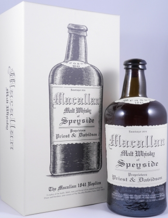 Macallan 1841 Replica Highland Single Malt Scotch Whisky 3rd Edition 41.7%
