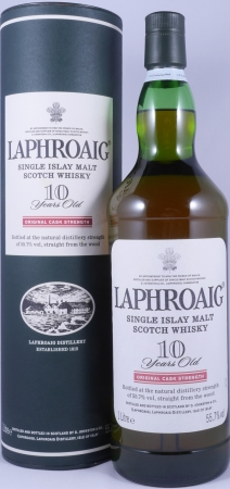 Laphroaig Cask Strength Red Stripe 10 Years Islay Single Malt Scotch Whisky 55,7%