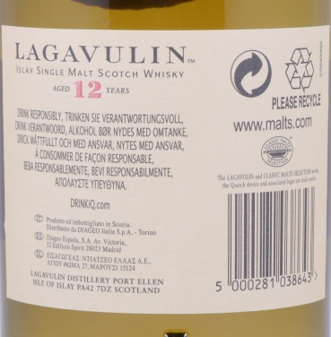 Lagavulin 12 Years 14th Special Release Limited Edition 2014 Islay Single Malt Scotch Whisky Cask Strength 54,4%