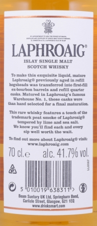 Laphroaig 27 Years limited Edition 2017 Double Matured Islay Single Malt Scotch Whisky Cask Strength 41,7%