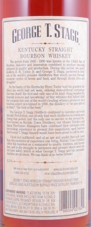 George T. Stagg 1988 Fall of 2004 Kentucky Straight Bourbon Whiskey 64.5% from the Buffalo Trace Antique Collection