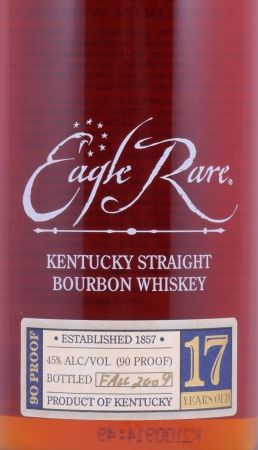 Eagle Rare 17 Years 1992 Fall of 2009 Kentucky Straight Bourbon Whiskey 45,0% aus der Buffalo Trace Antique Collection
