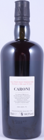 Velier Caroni 1998-2014 16 Years Full Proof Heavy Trinidad Rum 32th Release 64,5%