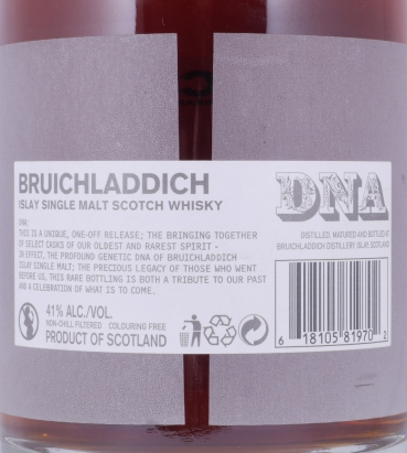 Bruichladdich DNA_1 The 36* First Edition 36 Years Chateau Le Pin Islay Single Malt Scotch Whisky 41,0%
