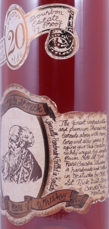 Very Olde St. Nick 20 Years Very Rare Ancient Estate 94 Proof Handmade Kentucky Straight Bourbon Whiskey 47,0%