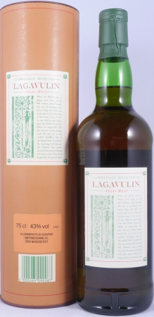 Lagavulin 12 Years Specially Selected White Horse Distillers LTD. 1980s Islay Single Malt Scotch Whisky 43,0%
