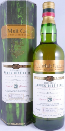 Ardbeg 1974 28 Years Islay Single Malt Scotch Whisky Douglas Laing Old Malt Cask 50,0%