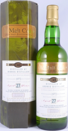 Ardbeg 1972 27 Years Islay Single Malt Scotch Whisky Douglas Laing Old Malt Cask 50,0%