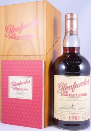 Glenfarclas 1961 53 Years The Family Casks Sherry Hogshead Cask 3054 Highland Single Malt Scotch Whisky 44,2%