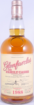 Glenfarclas 1988 28 Years The Family Casks Sherry Butt Cask 6986 Highland Single Malt Scotch Whisky 53.3%